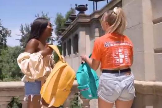 American Tourister Advert Girls