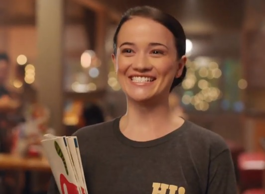 Chili's Commercial Girl