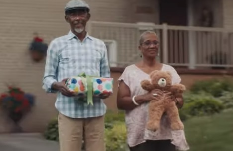 Spotify Commercial Old Couple