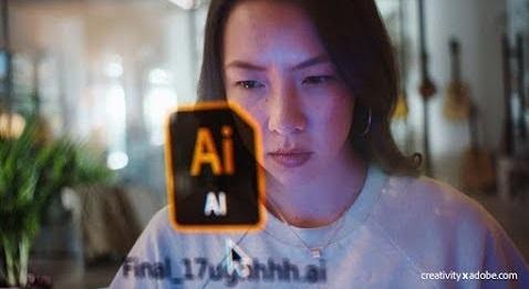 Adobe Creative Cloud Commercial Girl