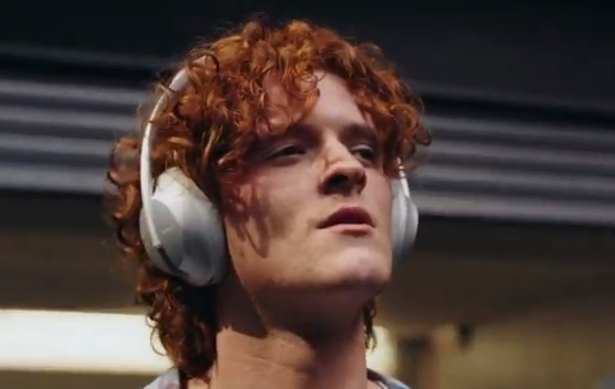 Bose Noise Cancelling Headphones Alexa Commercial - Feat. Red-Haired Young Manv
