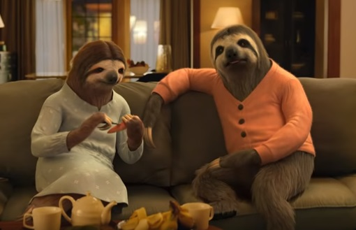 Hyundai Smart Technology Sloth Couple Commercial