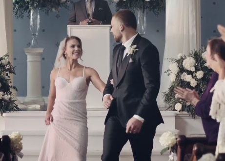 Visa Zach and Julie Ertz Commercial