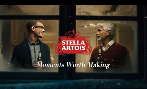 Stella Artois Christmas Commercial - Young Man And His Father