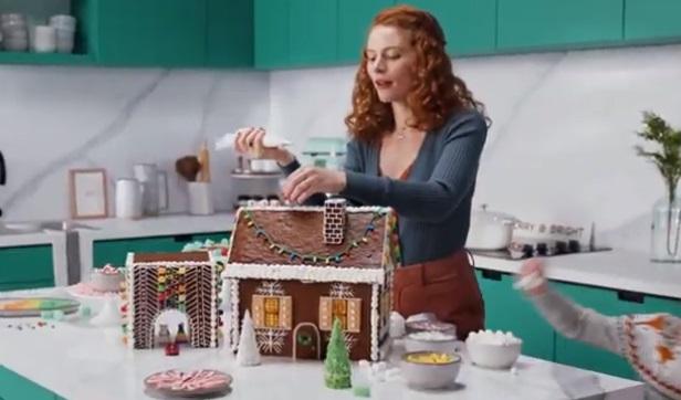 Target Christmas Commercial Girl