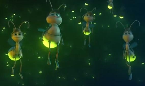 Bradesco Christmas Fireflies Commercial