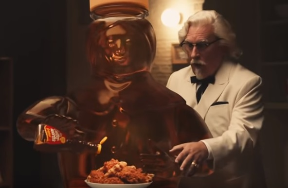 KFC Ghost Scene Commercial