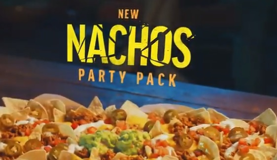 Taco Bell Nachos Party Pack Commercial