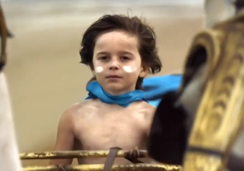 Haven TV Advert - Boy in Horse-Drawn Chariot on the Beach