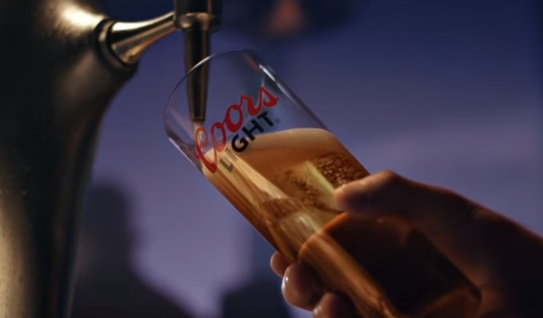 Coors Light TV Advert