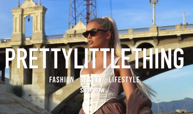 PrettyLittleThing Molly-Mae Hague 2020 Advert