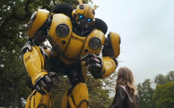 Direct Line Transformers Bumblebee Advert