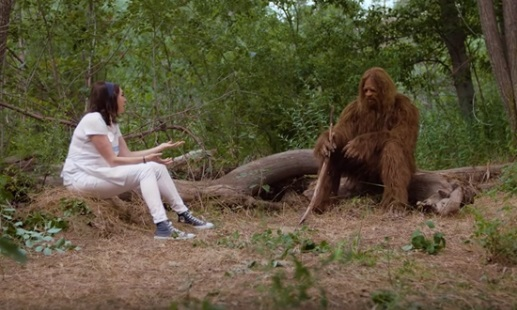Progressive Bigfoot and Flo Commercial