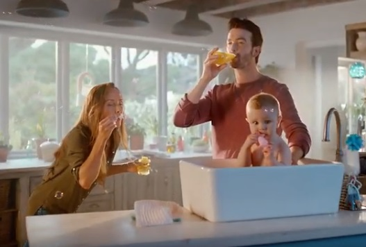 Tropicana Orange Juice Commercial Family