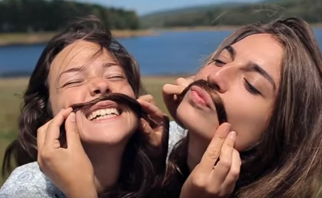 Pass It On Commercial - Girls With Hair Mustaches