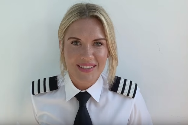 Female British Airways Pilot - TV Advert