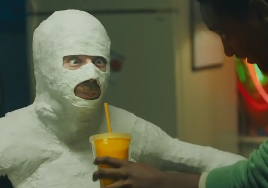 Kraft Dinner Commercial - Man in Plaster