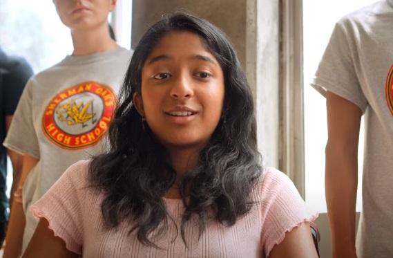 Netflix 2020 Series - Never Have I Ever - Indian-American Actress Maitreyi Ramakrishnan