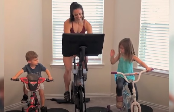 Oreo Commercial - Family Cycling at Home