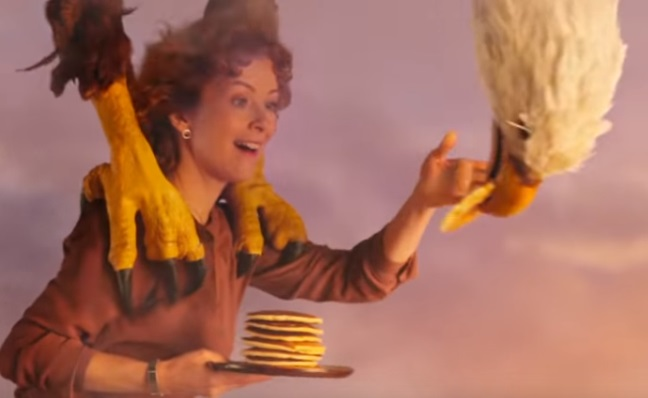Real California Milk Commercial - Woman & Eagle
