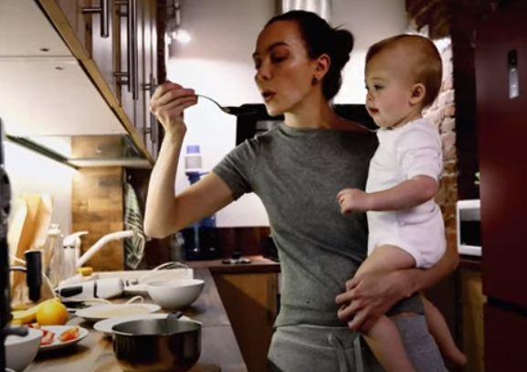 Tyson Foods Commercial - Mom with Baby
