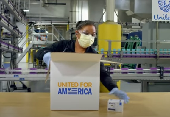 Unilever United for America Commercial Actress