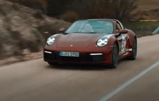 Porsche 911 Targa S4 Heritage Edition Commercial