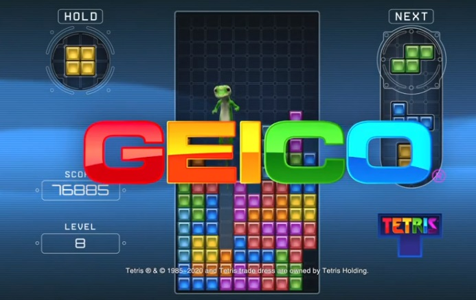 GEICO Tetris Commercial