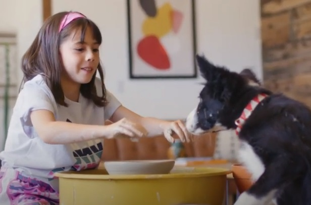 Macy's Back to School Commercial - Girl and Dog