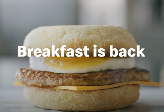 McDonald's UK Advert - Breakfast Is Back