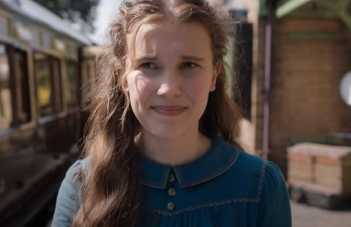 Enola Holmes Movie Trailer Actress - Millie Bobby Brown