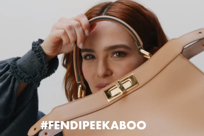 Fendi Peekaboo Bag Commercial - Actress Zoey Deutch