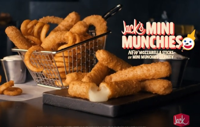 Jack in the Box Mini Munchies Commercial
