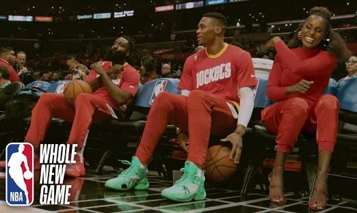 NBA Restart Issa Rae Commercial