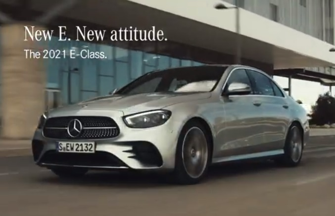 2021 Mercedes-Benz E-Class Commercial
