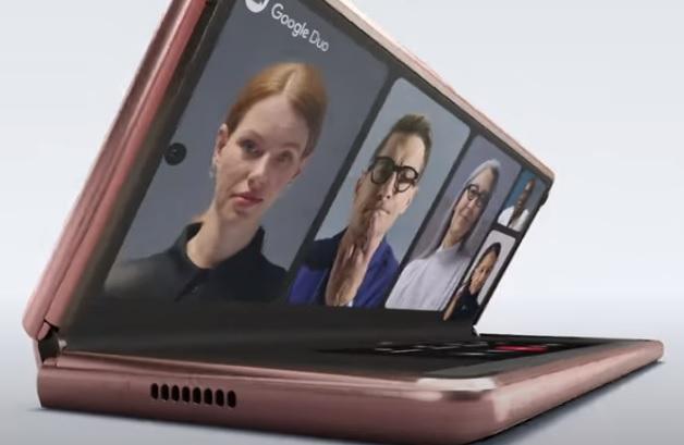 Samsung Galaxy Z Fold2 5G Commercial