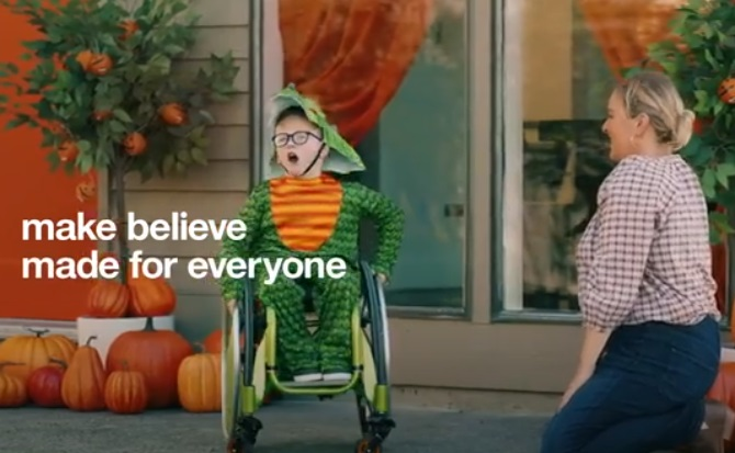 Target Commercial - Boy With Dragon Costume