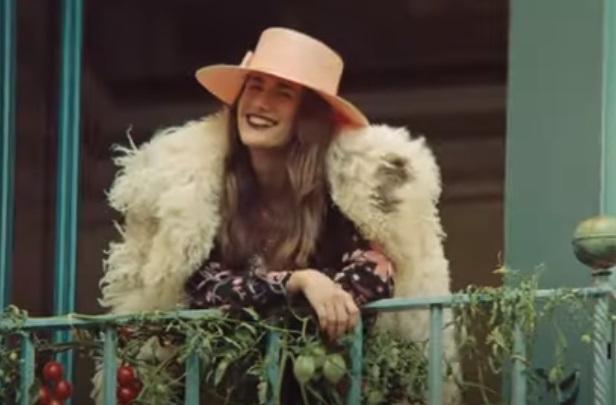 Gucci Epilogue Commercial Actress