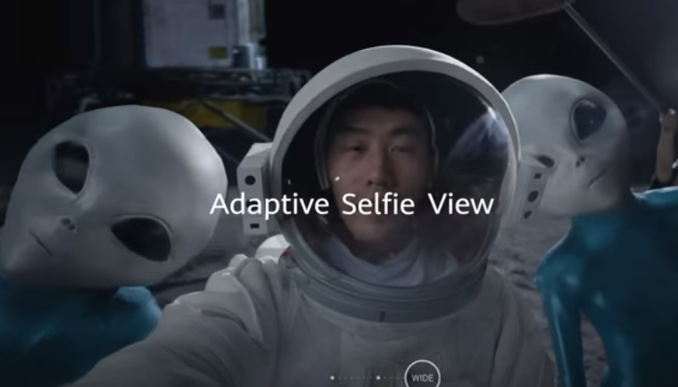 Huawei Mate40 Commercial - Feat. Actor Taking Selfie with Aliens