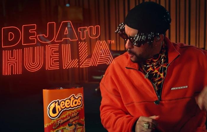 Cheetos Bad Bunny in the Recording Studio Commercial / Anuncio