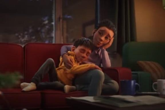 McDonald's UK Christmas 2020 Inner Child Advert Mom and Son #ReindeerReady