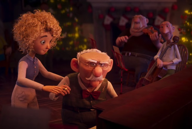Erste Group Bank Christmas Commercial - Old Man Playing the Piano