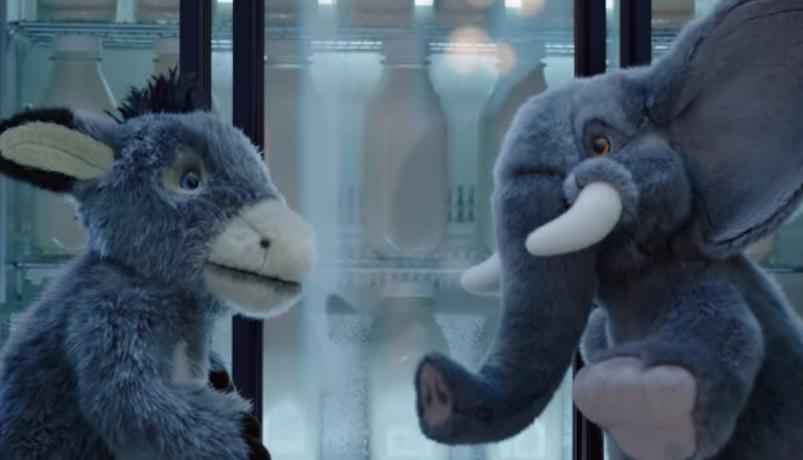 Oreo Stuffed Animals Commercial - Donkey and Elephant
