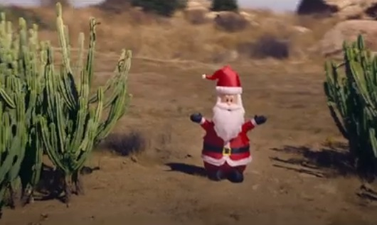 USPS Christmas Commercial Song - Santa Toy