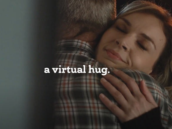 Russell Stover Commercial -  Virtual Hugs