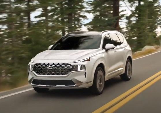 2021 Hyundai Santa Fe Commercial
