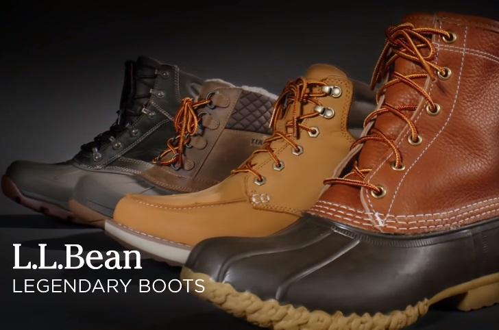 L.L. Bean Legendary Boots Commercial