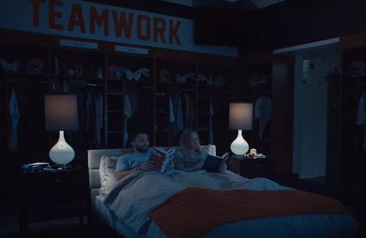 Progressive Baker Mayfield in Bed Commercial