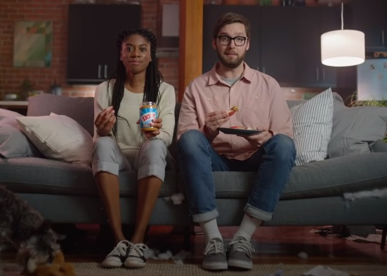 SKIPPY Peanut Butter Couple & Puppy Commercial