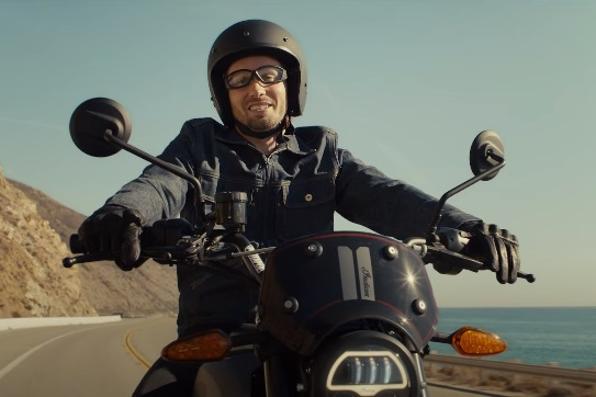 Progressive Insurance Lone Wolf Rider Motorcycle Commercial